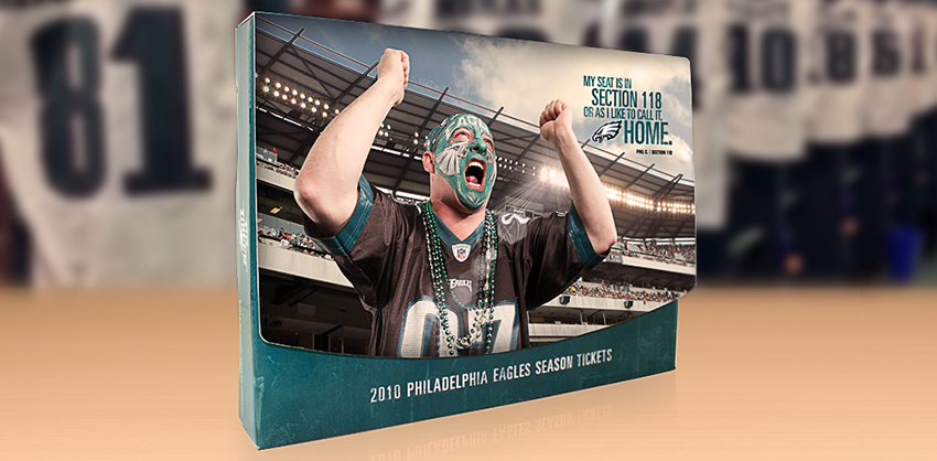 2010 Eagles Season Tickets